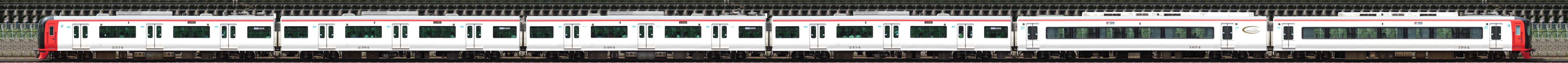 系 名鉄 1700