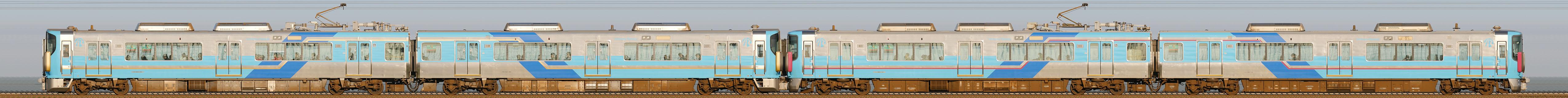 IRいしかわ鉄道521系(海側) >INDEX>編成サイドビュー・近郊型 IRいしかわ鉄道521